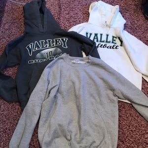 Sweaters - 3 sweatshirts for the price of one!
